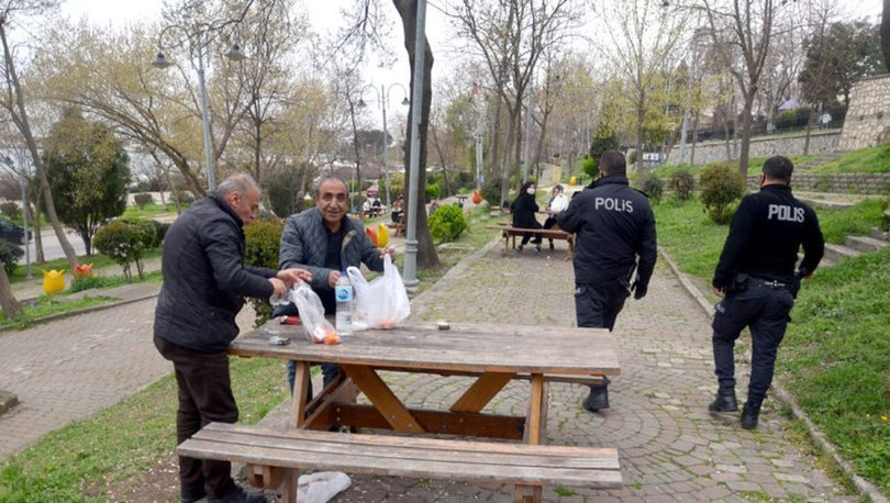Uyarılara rağmen pikniğe çıktılar, polis uyardı
