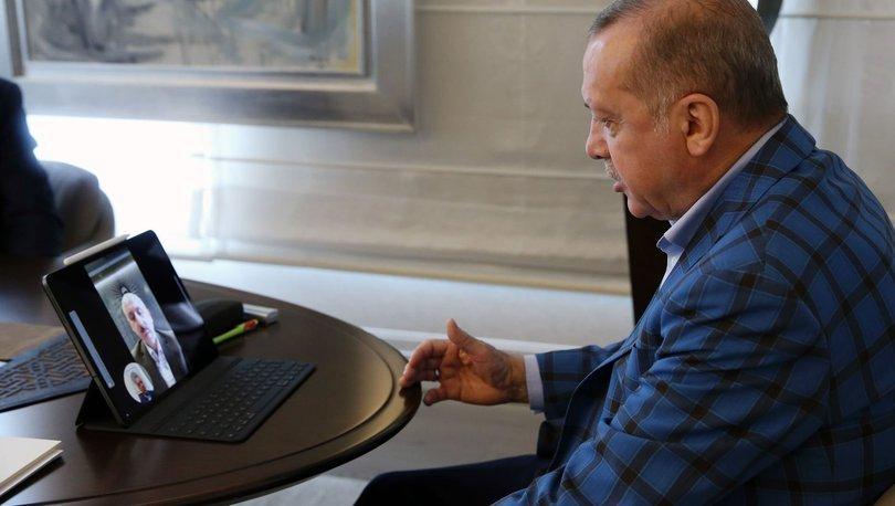 Cumhurbaşkanı Erdoğan, Ulaştırma Bakanı Karaismailoğlu ile görüştü - haberler