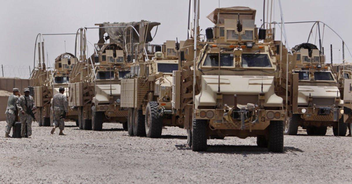Üssün kontrolü Irak askerlerinde
