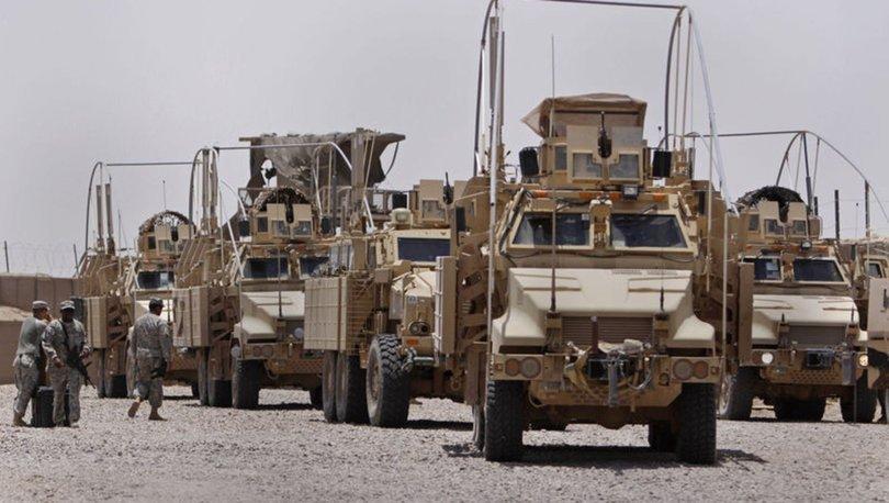 Kerkük'te ABD askerleri K1 Üssü'nü Irak askerlerine devretti
