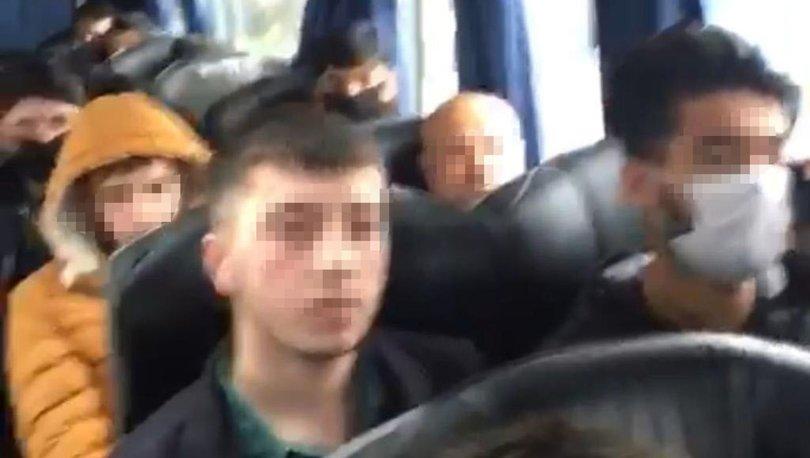 Son dakika haberler... Bir otobüs yolcuya 'koronavirüs tedbirlerini ihlal