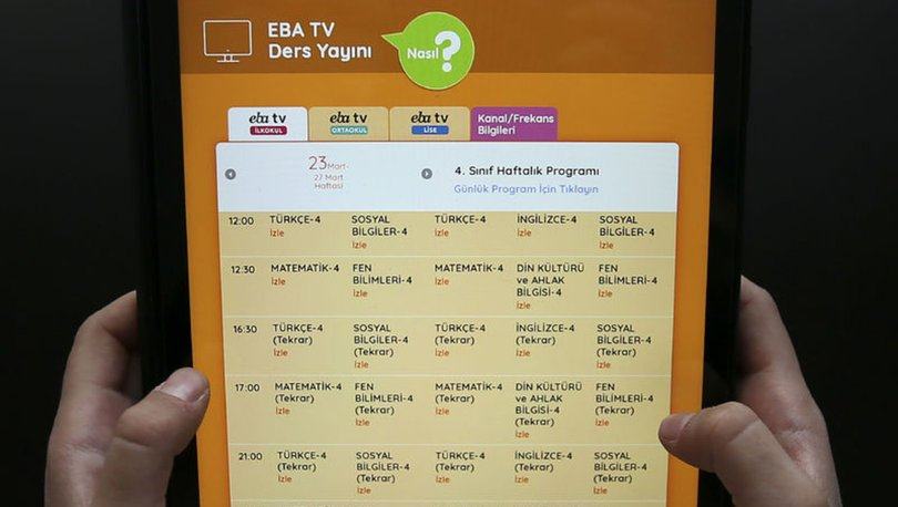 EBA giriş nasıl yapılır? Uzaktan Eğitim sistemi EBA şifre oluşturma ve öğrenci girişi