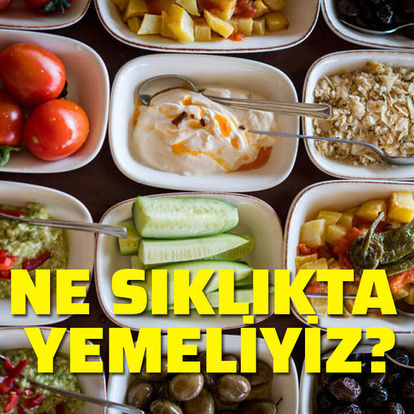 Ne sıklıkta yemek yemeliyiz?
