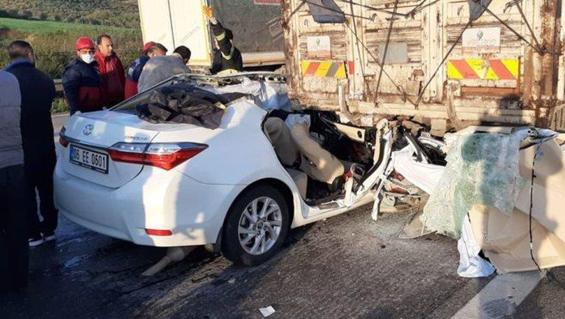 Osmaniye'de korkunç kaza! Kamyona arkadan çarptı: 3 ölü, 2 ağır yaralı