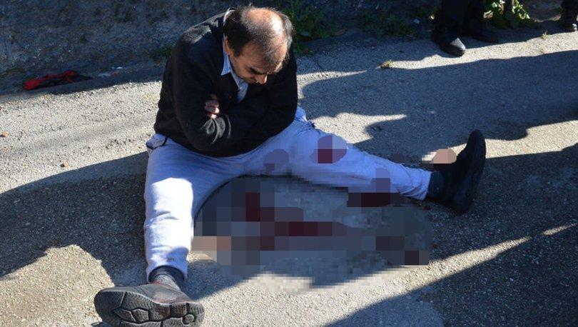 Son dakika haber! Kavga ihbarına giden polise bıçakla saldıran şüpheli vuruldu