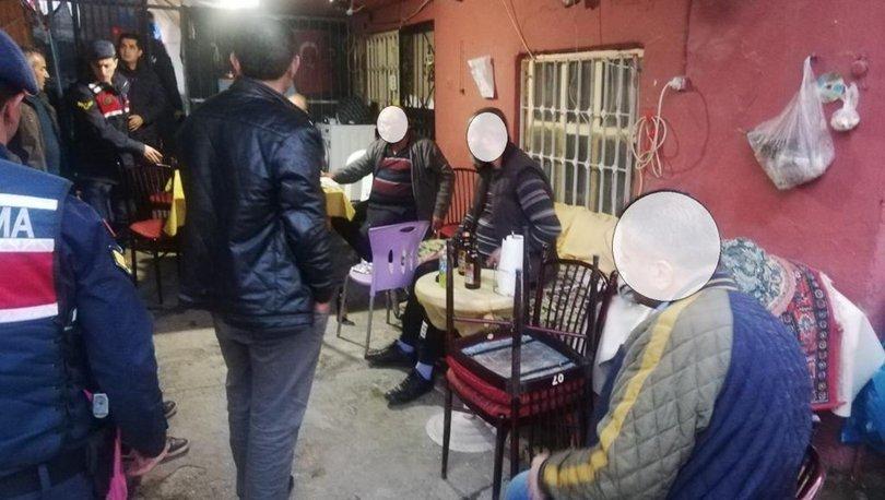 Anamur'da evinin önünü kahvehaneye dönüştürünce ceza yedi