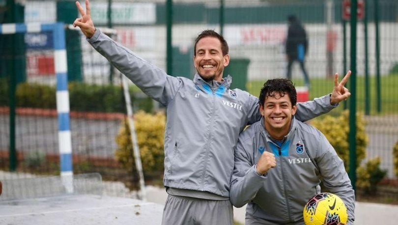 Pereira ve Guilherme 8 yıl sonra Trabzonspor'da buluşarak ortak oldular