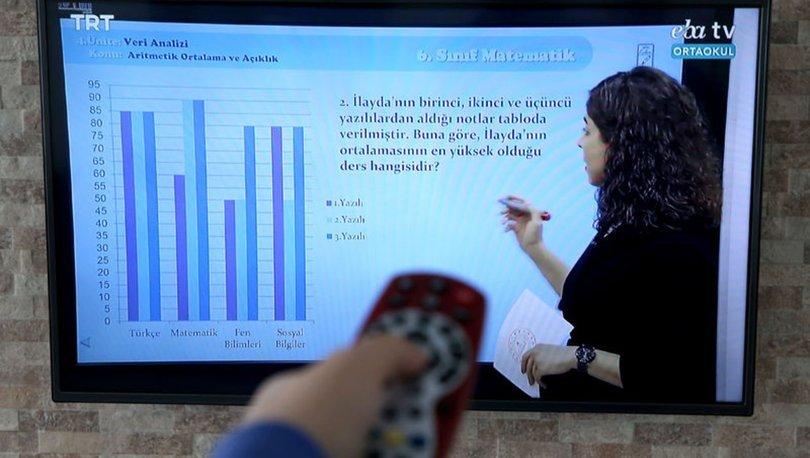 EBA TV canlı yayın ders tekrarı İZLE! 30 Mart ilkokul, ortaokul, lise TRT EBA TV ders tekrarları