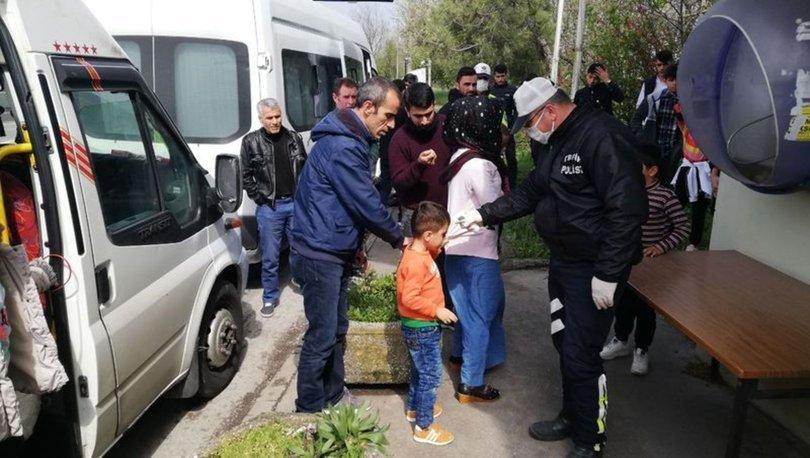 Son dakika haber! Seyahat kısıtlamasına uymayan yolcular Sakarya'da yakalandı, İstanbul'a geri gönderildi