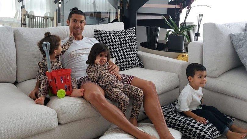 Ronaldo'dan koronavirüse karşı