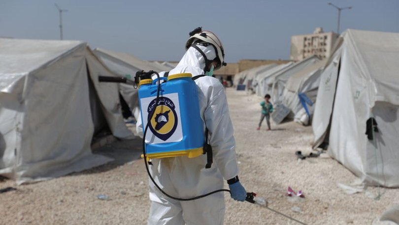 BM açıkladı! Suriye'de 10 kişide koronavirüs görüldü