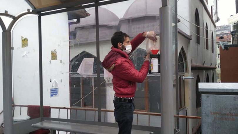 Tokat'ta dezenfektan hırsızlığı