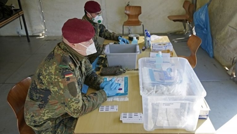 Koronavirüs: Almanya'da ordu salgınla mücadele kapsamında hangi alanlarda görev yapacak?