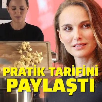 Natalie Portman pratik tarifini paylaştı!