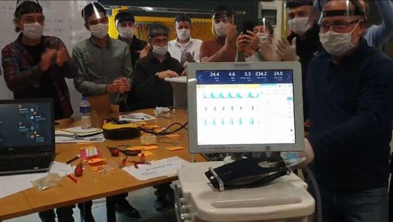 Yerli solunum cihazının ilk prototipi üretildi