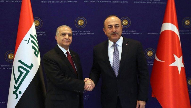 Dışişleri Bakanı Çavuşoğlu, Irak Dışişleri Bakanı Hekim ile görüştü