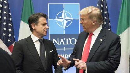 Trump ve Conte'den telefon görüşmesi