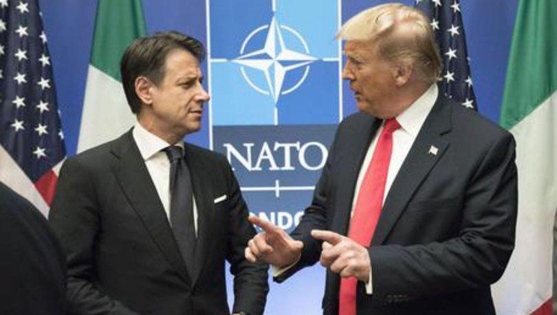 ABD Başkanı Trump ve İtalya Başbakanı Conte'den Kovid-19 görüşmesi