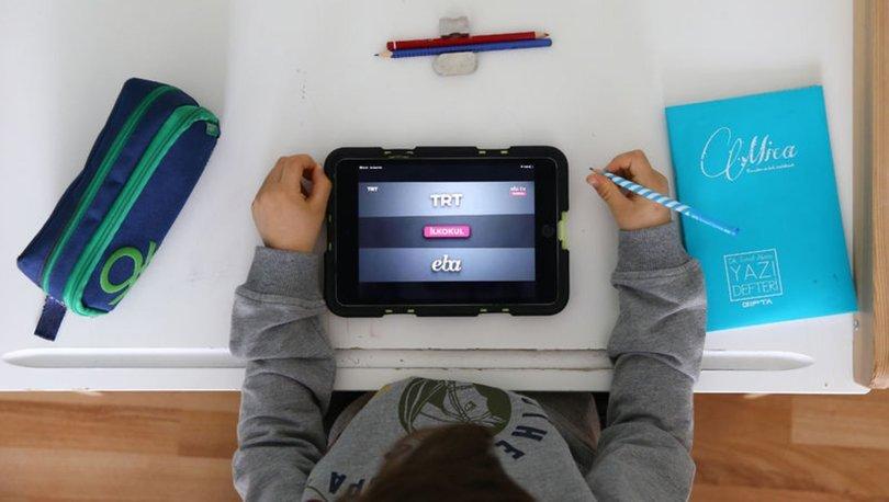 EBA ders programı 2020! TRT EBA TV ilkokul, ortaokul lise haftalık ders programı 31 Mart salı