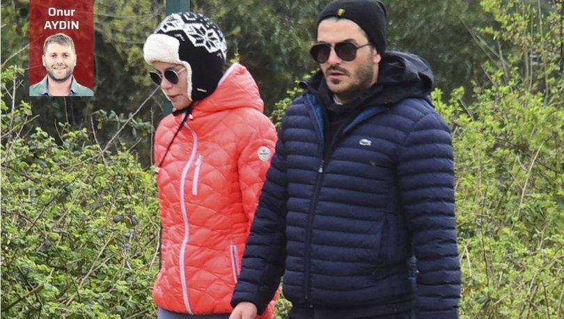 Ebru Şallı ile Uğur Akkuş yürüyüşte - Magazin haberleri