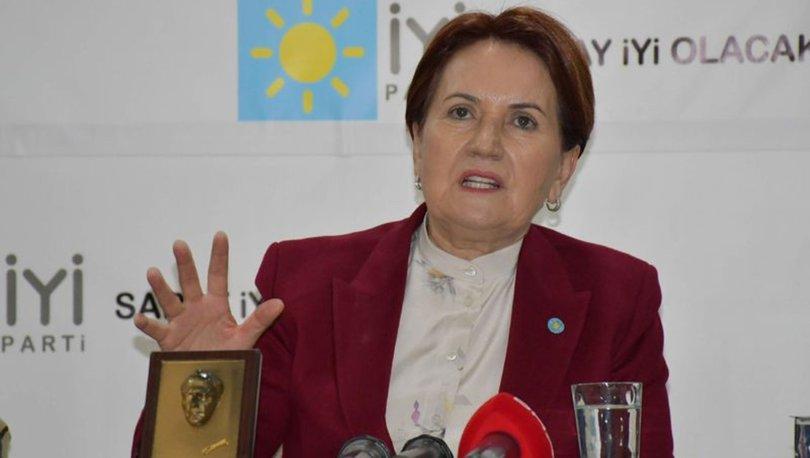 Akşener: Emekli maaşımın 3'ünü İstanbul'a, 3'ünü Ankaraya bağışladım