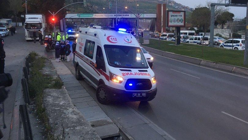 Son dakika haberler... Ambulansı kaçıran şüpheli kovalamacayla yakalandı!