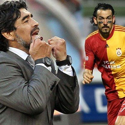 Maradona'dan Servet için şok sözler!