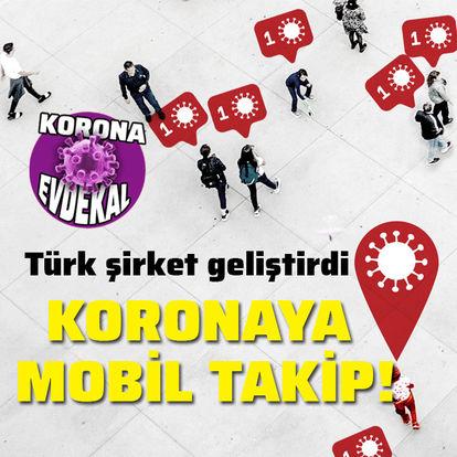 Türk şirketinden korona takip uygulaması