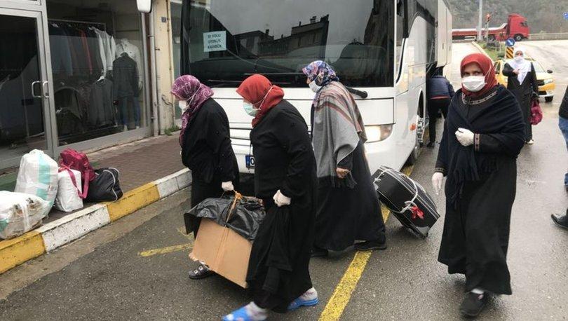 ANKARA'DA KARANTİNA SÜRESİNİ DOLDURAN...