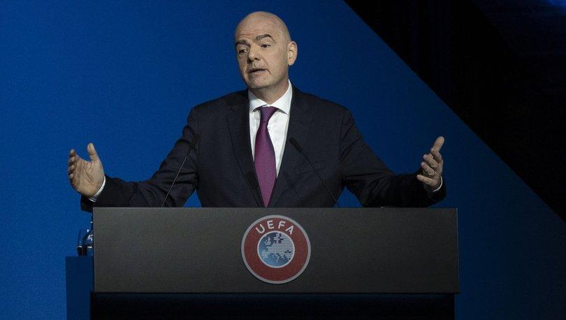 """Son Dakika Fifa Başkanı Yeniden Infantino: FIFA Başkanı Infantino: """"Hiçbir Maç Insan Hayatından Daha"""
