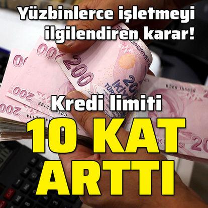 Karar Resmi Gazete'de! KOBİ'lere destek 10 katına çıktı