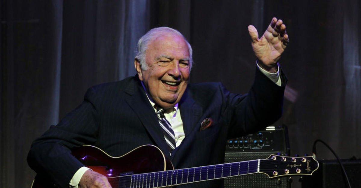 Caz müziğinin efsanelerinden olan sanatçı, 94 yaşındaydı...