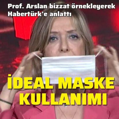 İşte ideal yüz maskesi kullanımı