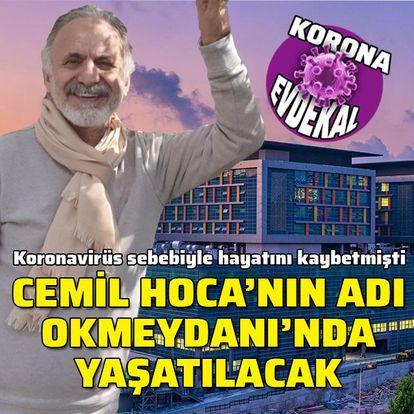 Okmeydanı Hastanesi'ne Cemil Taşçıoğlu ismi verilecek