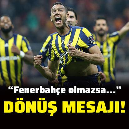 Josef'ten Türkiye'ye dönüş mesajı