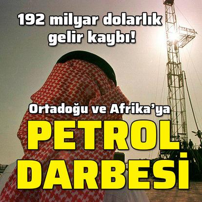 Ortadoğu'ya 'petrol' darbesi