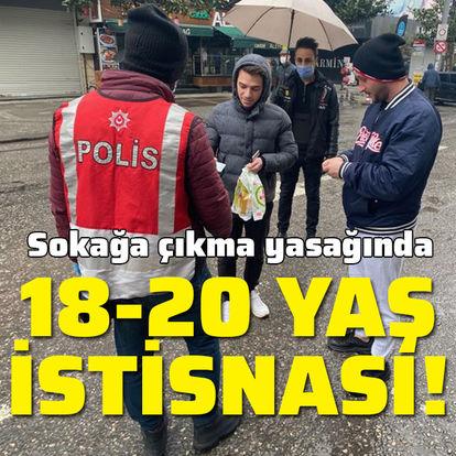 18-20 yaş arası gençler için genelge!