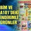 BİM, A101 katalog ürünleri