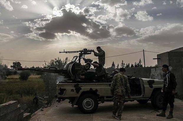 BM duyurdu! Mühimmat taşıyan askeri uçak vuruldu
