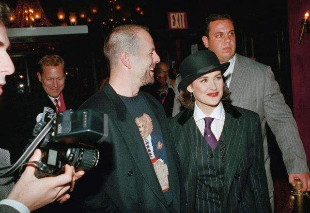 Bruce Willis ile Demi Moore karantinada bir araya geldi - Magazin haberleri