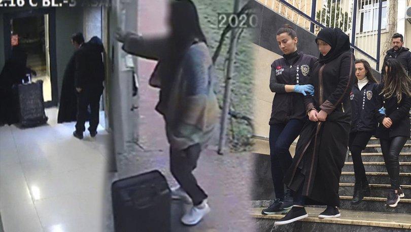 hırsızlar temizlikçi kadınlar çıktı