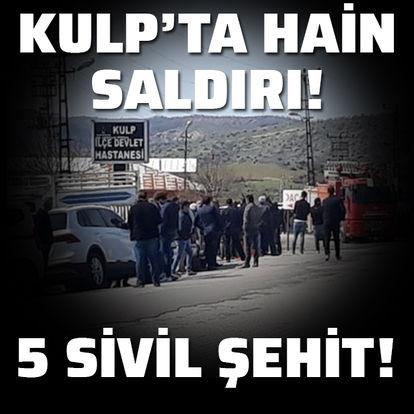 Köylülere terör saldırısı! 5 sivil şehit!
