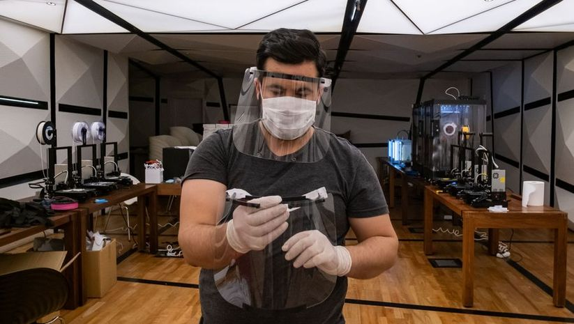 Koronavirüs ile üç boyutlu savaş!