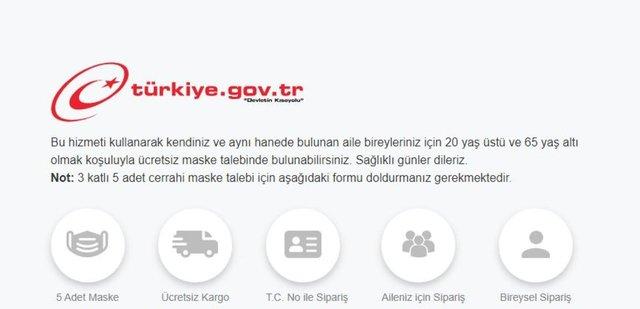 E-devlet maske başvuru nasıl yapılır! PTT ile ücretsiz maske kapınıza kadar gelsin! İşte başvuru formu