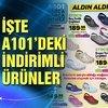 İşte A101 katalog ürünleri