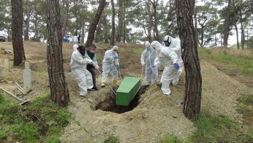 'Korona'dan ölenlerin cenazesi için açıklama