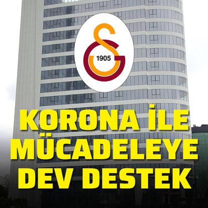 Galatasaray'dan dev destek