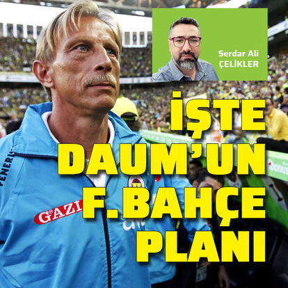 İşte Daum'un Fenerbahçe planı