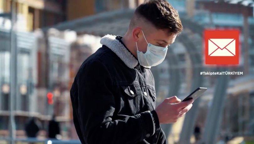 Türkiye'de koronavirüs takip uygulaması uyarı mesajları göndermeye başladı! Haberler
