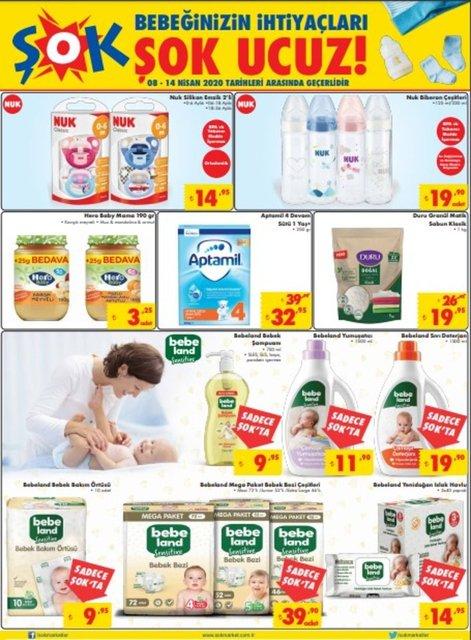 ŞOK 14 Nisan Aktüel ürünler kataloğu 2020! ŞOK'da bu hafta kampanyalı indirimli ürünler var